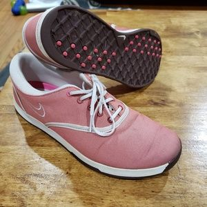 Nike pink lunarlon womens sz 8